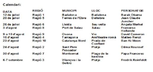 Calendari mosaics 2