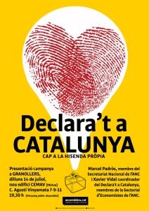 Declara't a Catalunya-CEMAV Granollers 14-07-2014 _CartellBaixaA3