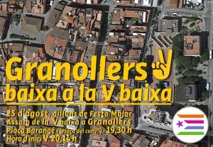 Cartell-Granollers baixa a la V baixa_Assaig25aFM