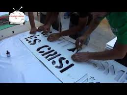 taller de pancartes