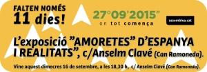 EXPO Amoretes Espanya pels barris 16s Anselm Clavé (Can Ramoneda).