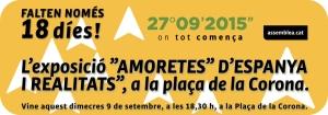 EXPO Amoretes Espanya_ Pl.Corona 9set2015