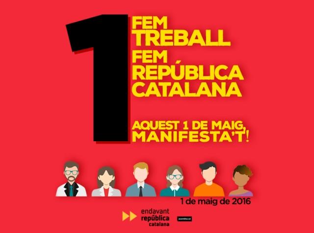 Manifestació 1 de maig