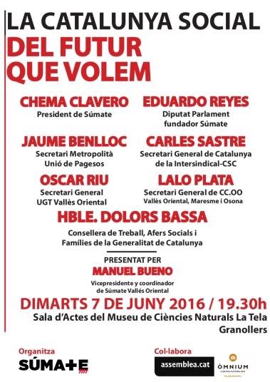 La Catalunya social que volem