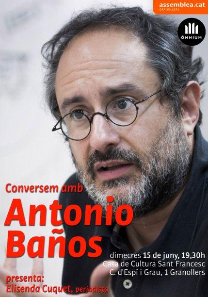 Antonio Baños_15juny2016Granollers