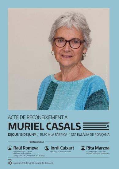 En memòria de Muriel Casals