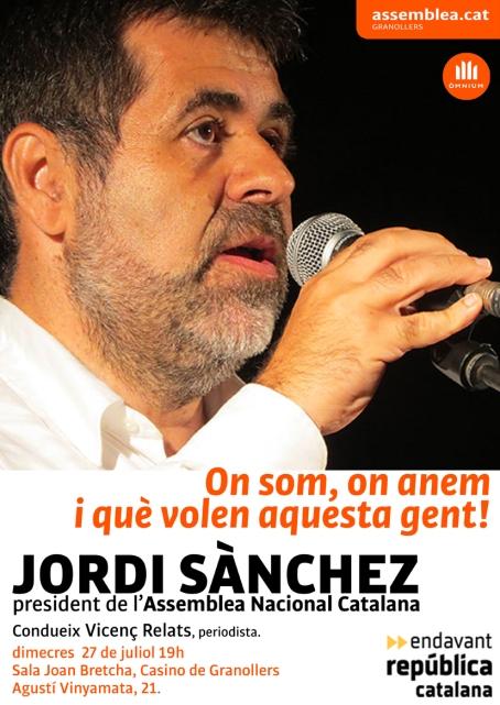 Jordi Sánchez ANC_27-07-2016_Casino Granollers_A4_100