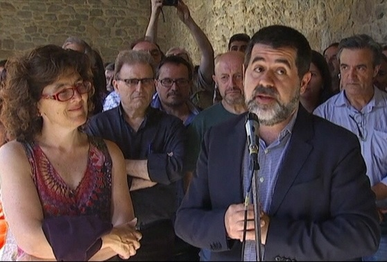 Jordi Sánchez, Liz Castro