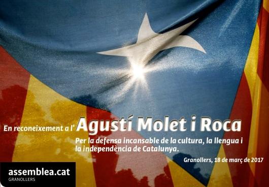 En reconeixement a l'Agustí Molet i Roca_18-03-2017_retall