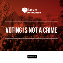 Voting is not a crime