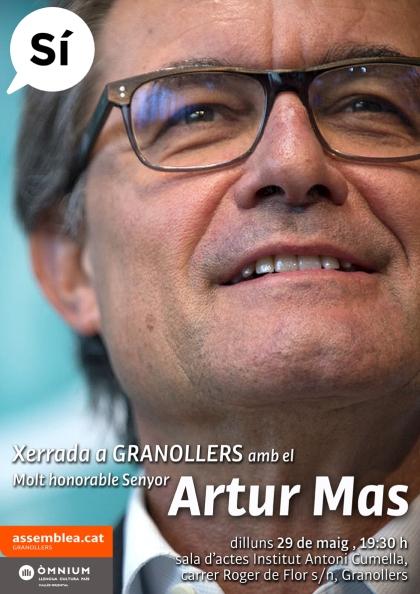 Artur Mas a Granollers_ANC-Òmnium 29-05-2017 _BaixaSÍ