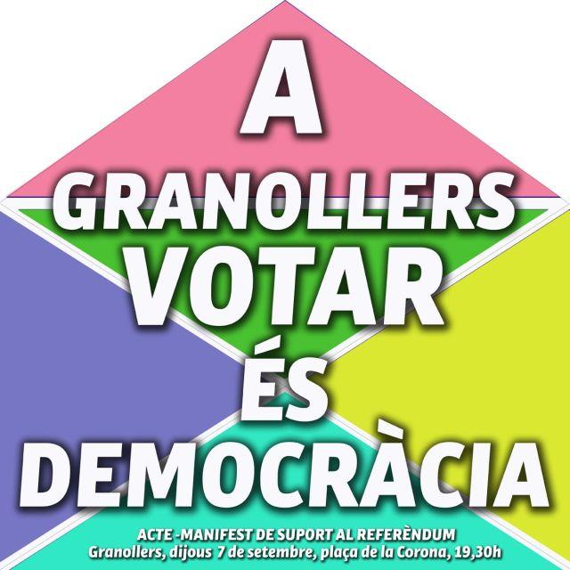 A GRANOLLERS VOTAR ÉS DEMOCRÀCIA_baixa Cartell